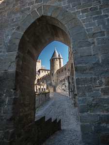Through the arch - Carcassonne, France