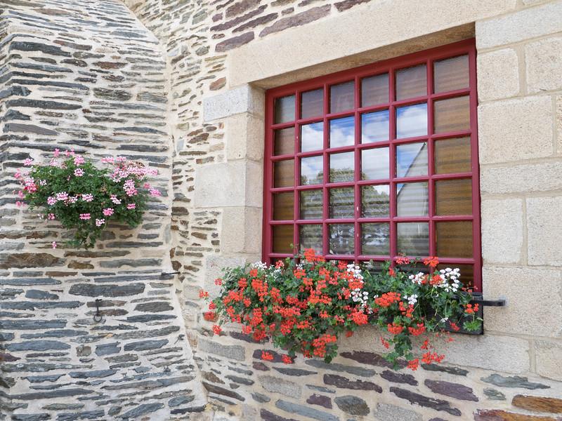 Cafe window - Ploermel France