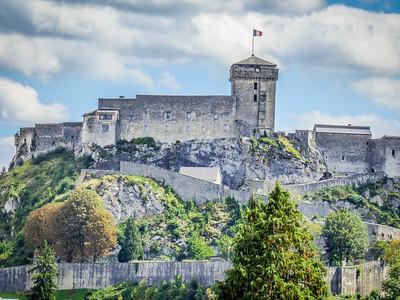 Castle at Lourdes, France