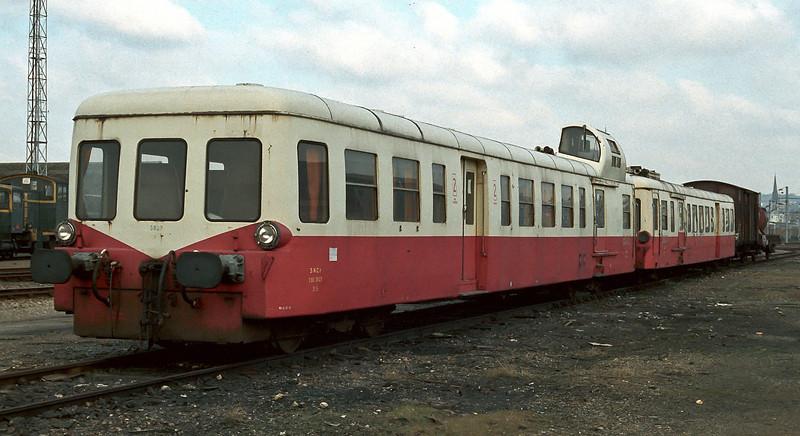 SNCF X3823 Sotteville 19 February 1988