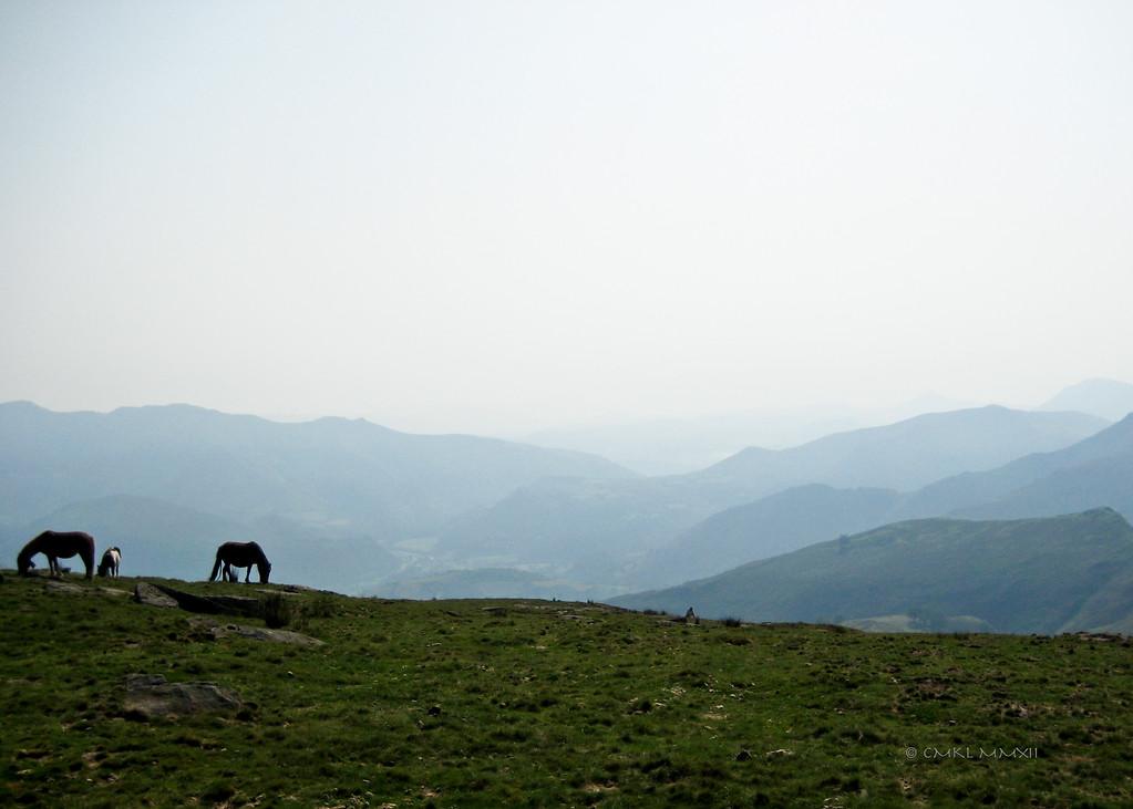 Looking toward Spain