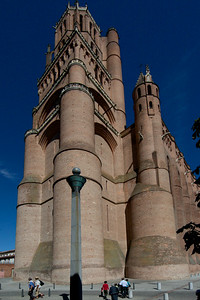 Albi Cathedral of Saint Cecilia  - The West Tower