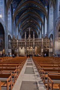 Albi Cathedral of Saint Cecilia Choir Screen