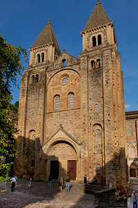Abbey Church of Saint Foy Facade