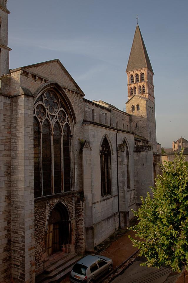 Tournus, Saint-Philibert Abbey North Facade
