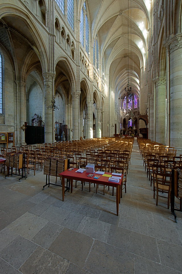 Soissons, Saint-Gervais and Saint-Protais Cathedral Nave and Choir