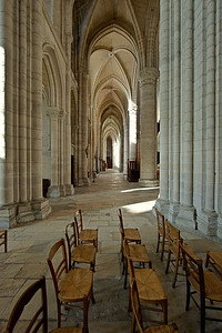 Soissons, Saint-Gervais and Saint-Protais Cathedral Aisle