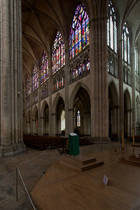 Troyes, Saint Peter and Saint Paul Cathedral Nave Elevation