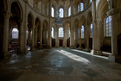 Soissons, Saint-Gervais and Saint-Protais Cathedral South Transept Arcade