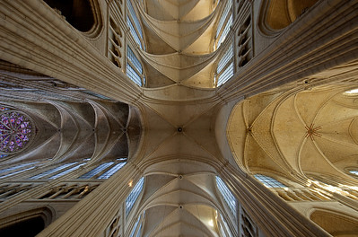 Soissons, Saint-Gervais and Saint-Protais Cathedral Crossing Vaults