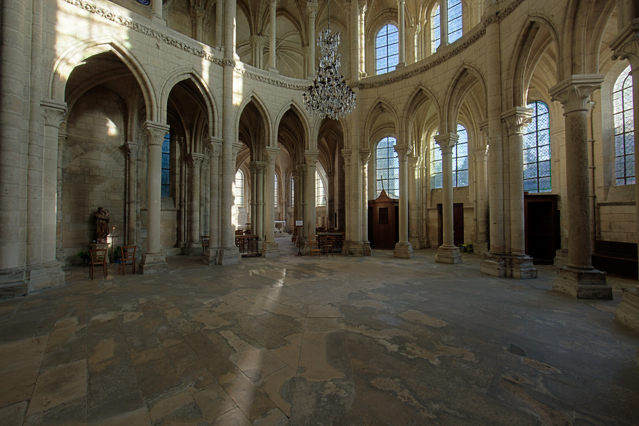 Soissons, Saint-Gervais and Saint-Protais Cathedral South Transept Arcade