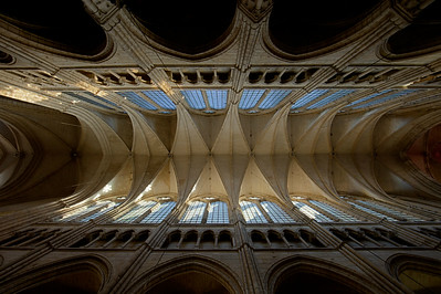 Soissons, Saint-Gervais and Saint-Protais Cathedral Nave Vaults
