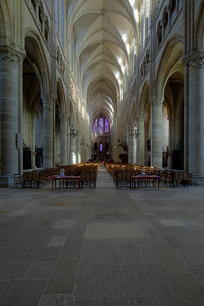 Soissons, Saint-Gervais and Saint-Protais  Nave and Choir