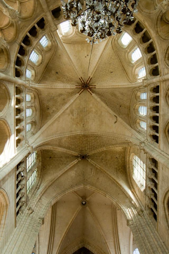 Soissons, Saint-Gervais and Saint-Protais Cathedral South Transept Vaults