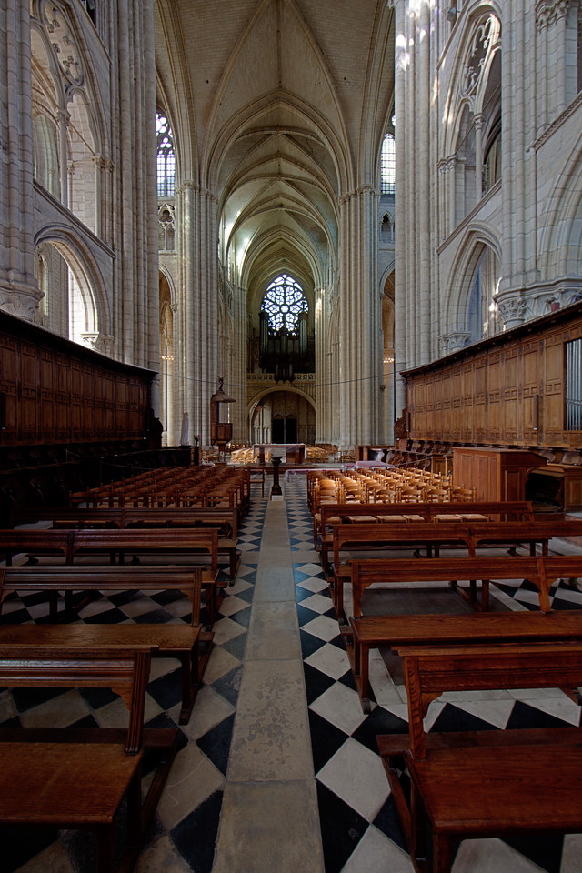 Meaux Cathedral Choir and Nave