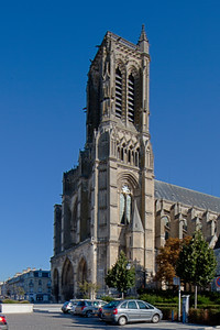 Soissons, Saint-Gervais and Saint-Protais Cathedral West Facade