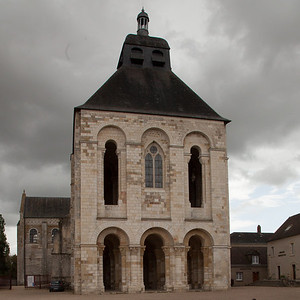Saint-Benoit-sur-Loire Abbey West Facade