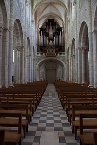 Saint-Benoit-sur-Loire Abbey  Organ Loft -