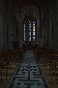 Beaumont-le-Roger - Nave & Choir