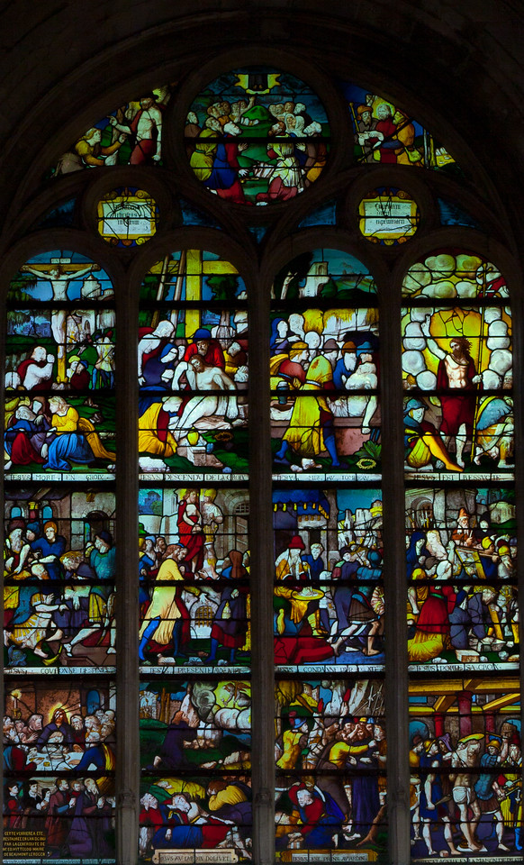 Beaumont-le-Roger - The Passion Window