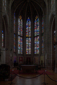 Conches-en-Ouche - The Choir Windows