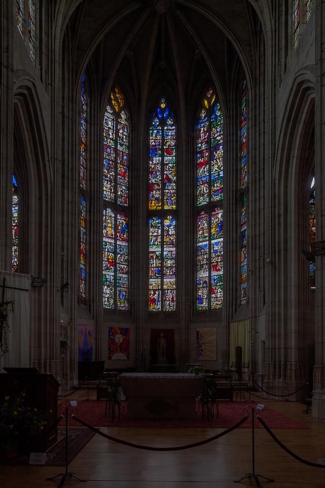 Conches-en-Ouche - The Choir Windows