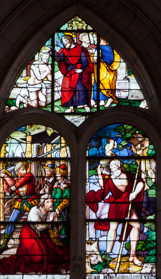Beaumont-le-Roger - Saint-Christopher Window
