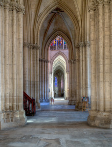 Troyes, Saint Peter and Saint Paul Cathedral Aisle