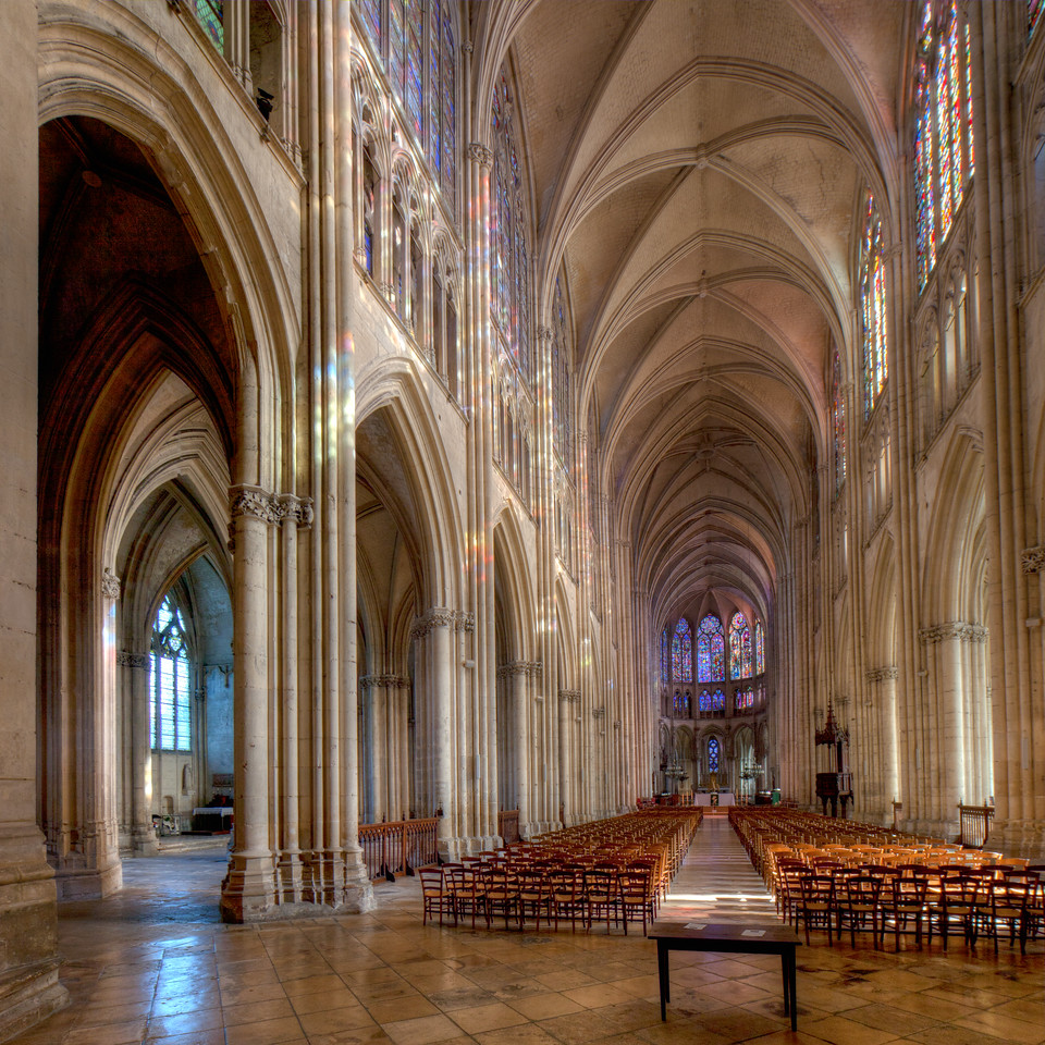 Troyes, Saint Peter and Saint Paul Cathedral Nave and Choir