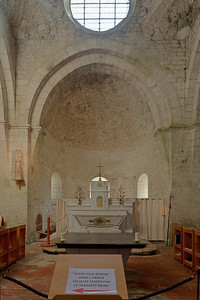 Leoncel Abbey Apse