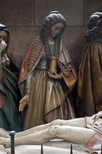 Moulins, Notre-Dame Cathedral, The Entombment, The Magdalen