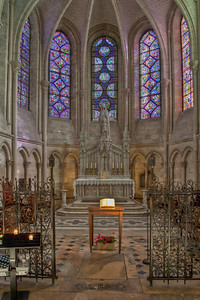 Troyes, Saint Peter and Saint Paul Cathedral Lady Chapel