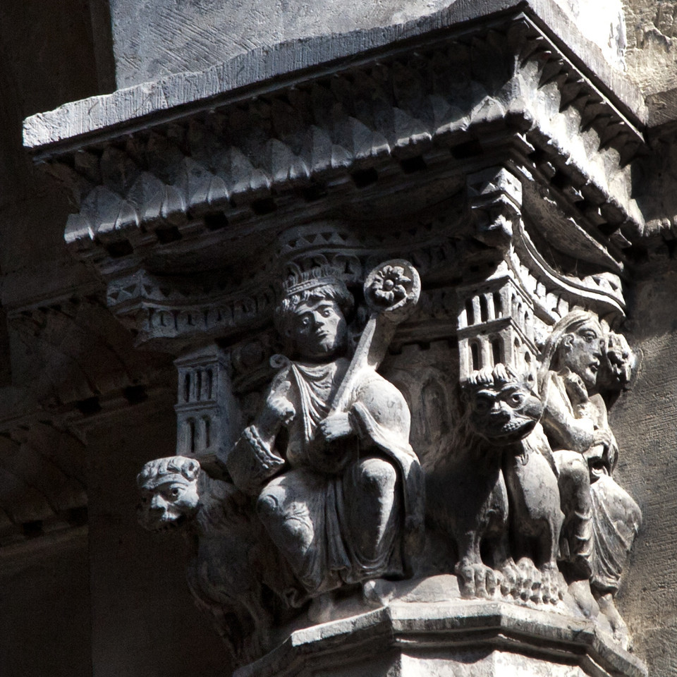 Vienne, Saint-Maurice Cathedral Capital, Christ with a Star