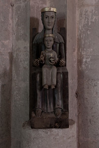 Le Thoronet Abbey Virgin and Child