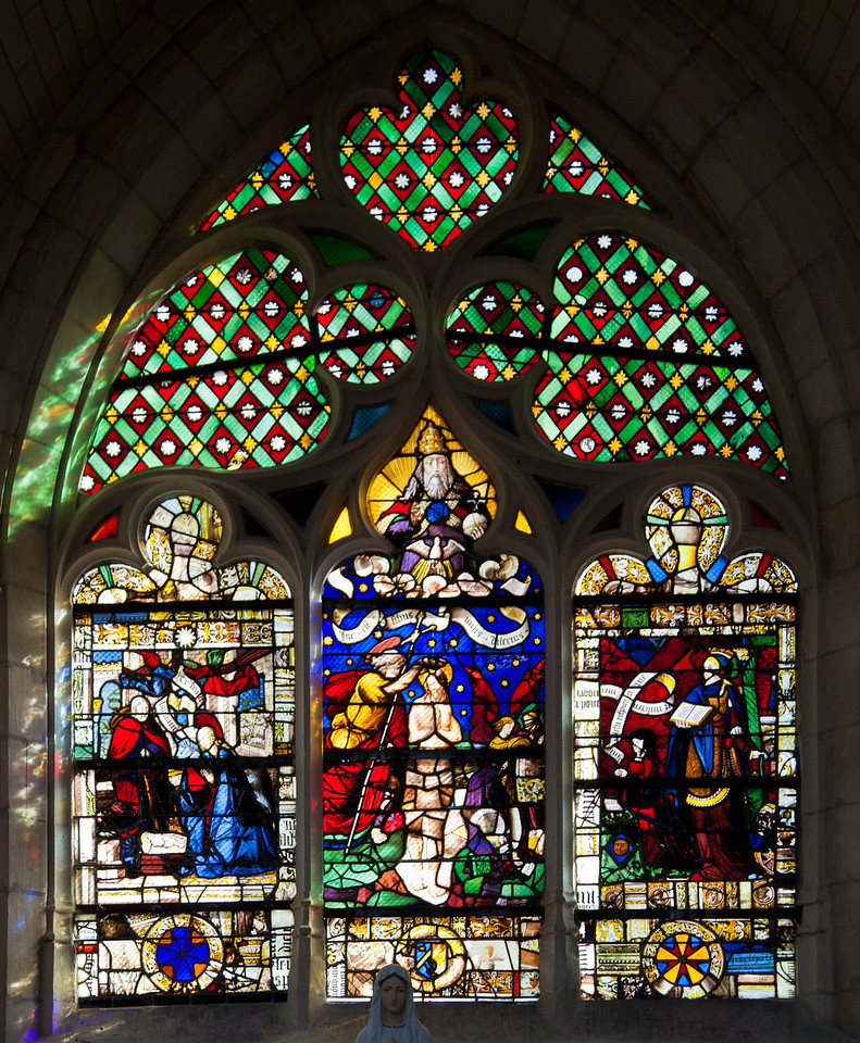 Troyes - Saint-Jean-au-Marche - The Crowning of The Virgin