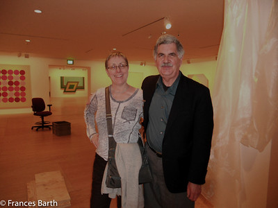 Frances with Jay Beloli in LA at Norton Simon Museum 2012