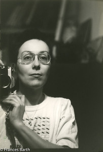Frances and her Pentax_early 1970's
