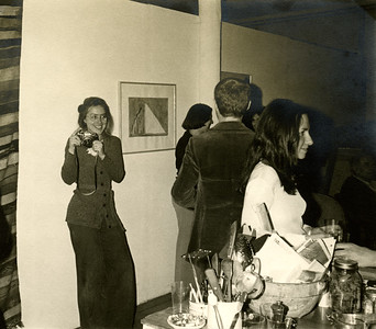 Frances Barth, Mary Whitten, Julie Gross at the Bowery, photo by Jack Whitten_74