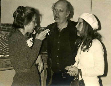 Frances Barth, Claes Oldenburg, Roxanne Everett. photo by Jack Whitten_74