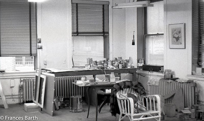 Frances' John St. and Nassau St. studio 1969-72