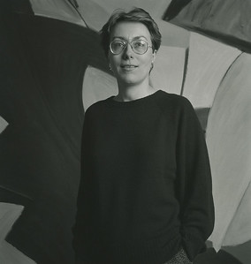 Frances Barth in her Van Dam St. studio_photo by Doug Baz