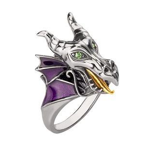 Disney X RockLove SLEEPING BEAUTY Maleficent Dragon Ring