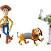 Disney and Pixar's Toy Story Andy's Toy Chest Retro Core Figure 4-Pack
