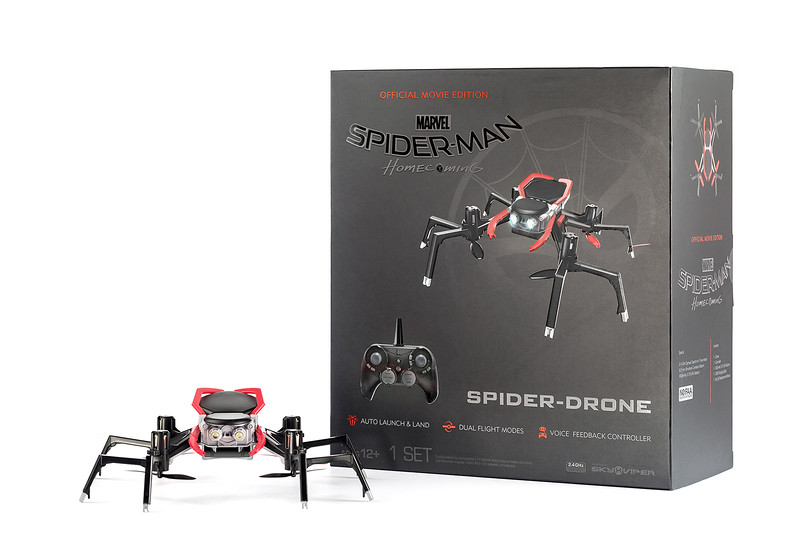 Marvel Spider-Man Homecoming: Official Movie Edition Spider Drone