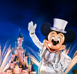 Disneyland Paris Celebrates World's Biggest Mouse Party
