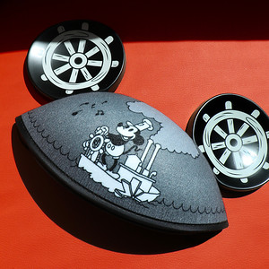 Steamboat Willie Ear Hat | Mickey: The True Original Exhibition Collection