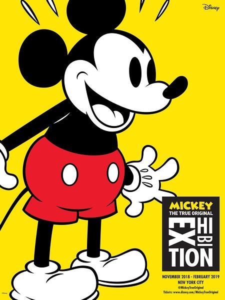 'Mickey: The True Original Exhibition' Opens November 2018 in New York City