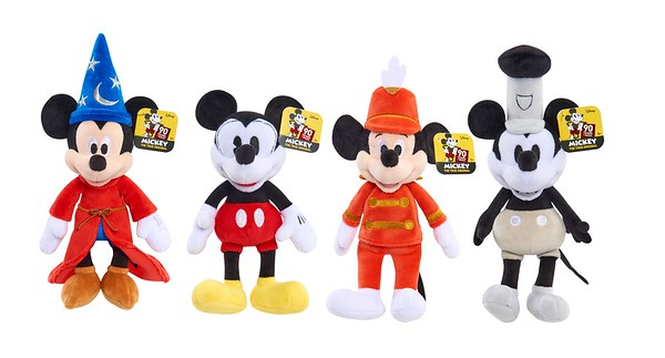 Mickey's 90th Anniversary Bean Plush