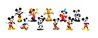 Mickey's 90th Anniversary 2-Pack Collectible Mini Figures
