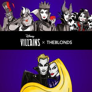 Disney Villains X The Blonds Class Photo